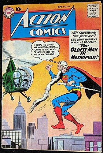 (Action Comics (1938) #251 VG- (3.5) Superman )