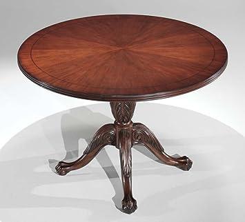 Amazoncom DMi Balmoor Round Conference Table With XShaped - Round conference table for 4