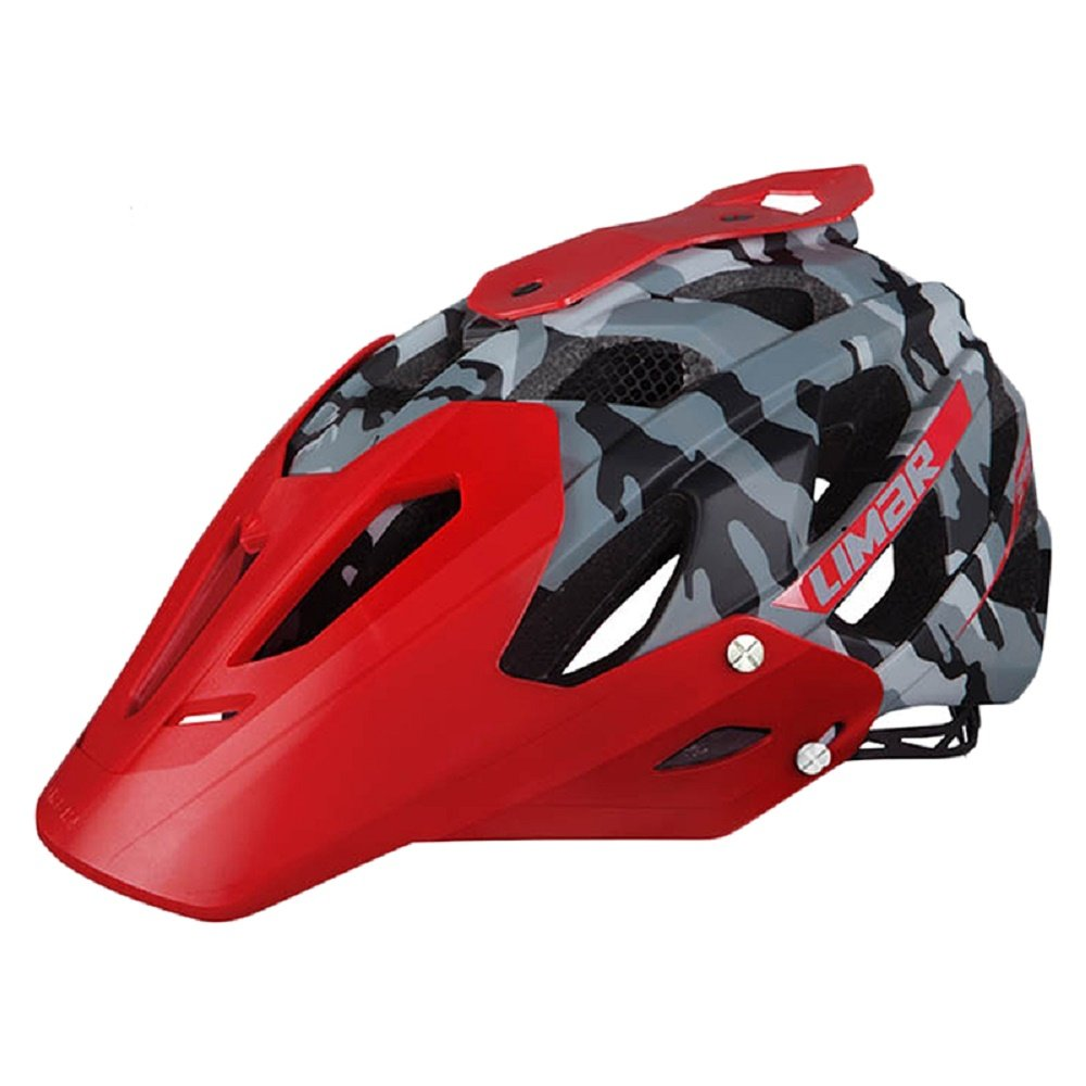 Limar 949 DR MTB Bicycle Helmet Large 58-62 with Camera and Light Mount Red