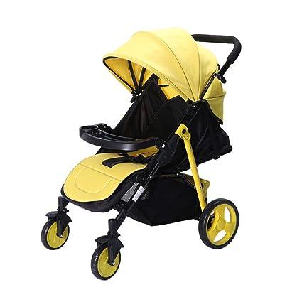 Silla de paseo Cochecito de bebé liviano Puede sentarse reclinable ...