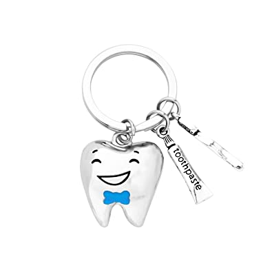 AKTAP - Llavero con diseño de Dentista: Amazon.es: Joyería