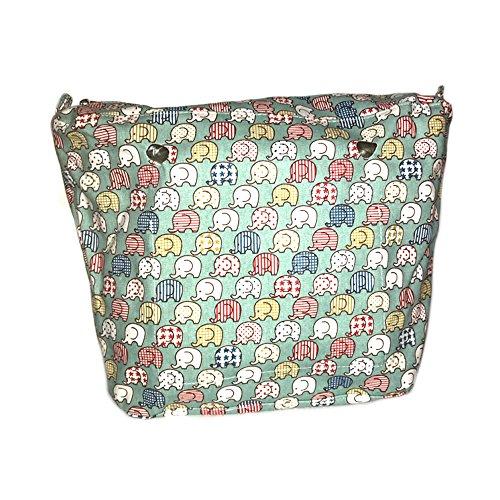 Bolsas internas tela compatibles Obag (Elefantes)