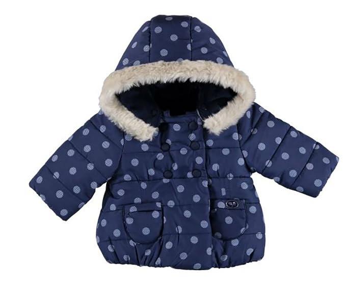 Mayoral - Abrigos - Plumaje - para bebé niña turquesa 80 cm: Amazon.es: Ropa y accesorios
