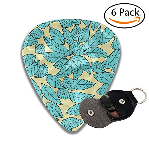 Grghtrghlsd Leaves Dried Leaves Stamping Pattern Classic Guitar Picks For Electric/acoustic Guitar,and Bass