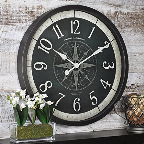 FirsTime & Co FirsTime Compass Rose Wall Clock