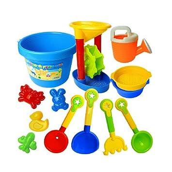 Sand sabbia ToysSet di Kids 13 pezzi Lommer di KJcTF1ul3