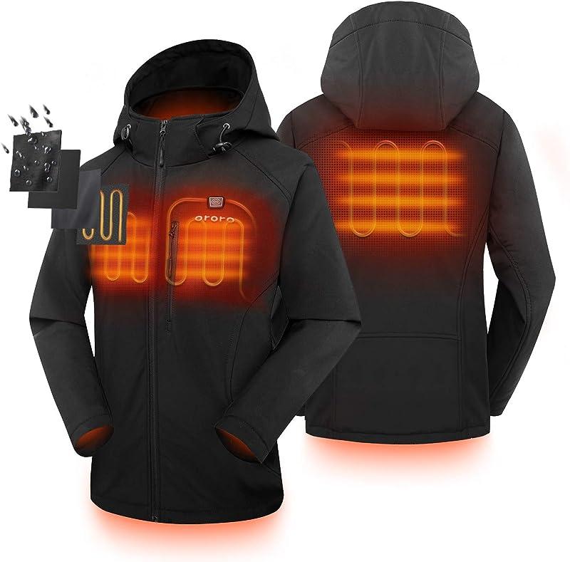 金盒特价 销量第一 ORORO 碳纤维加热 修身款 女式连帽保暖棉服 6.4折$105.99 海淘转运到手约¥795