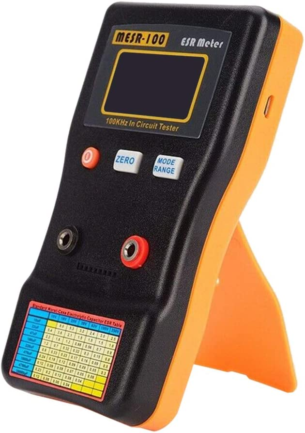 MESR-100 Professional ESR Meter 100kHz In Circuit Tester Capacitor Ohmmeter Ohm