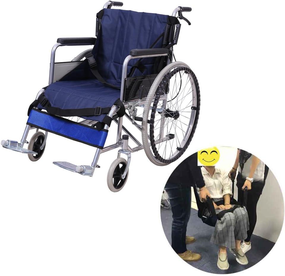 Correa de transferencia para silla de ruedas con correa de elevación médica para el cuidado del paciente, transporte de seguridad y movilidad, equipo de ayuda para personas mayores con discapacidad