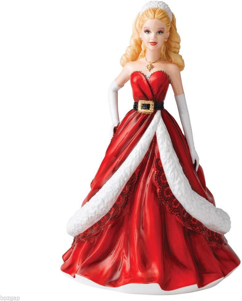 Amazon.com: Royal Doulton Holiday Barbie Pretty Ladies Christmas