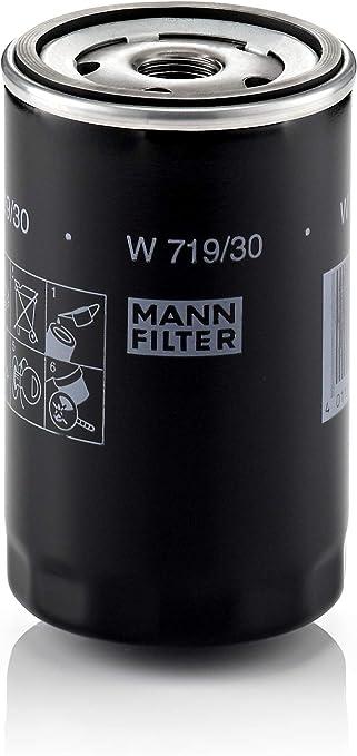 Original Mann Filter Ölfilter W 719 30 Für Pkw Und Nutzfahrzeuge Auto