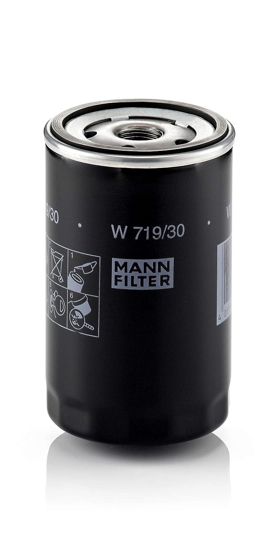 Original MANN-FILTER /Ölfilter W 719//30 F/ür PKW und Nutzfahrzeuge
