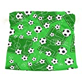 Dragon Sword Football Gate And Soccer Sports Ground Gift Bags Jewelry Drawstring Pouches for Wedding Party, 5.5x5.5 Inch