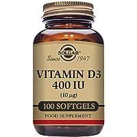Solgar Vitamin D3 400 IU (10 μg) Softgels - Pack of 100