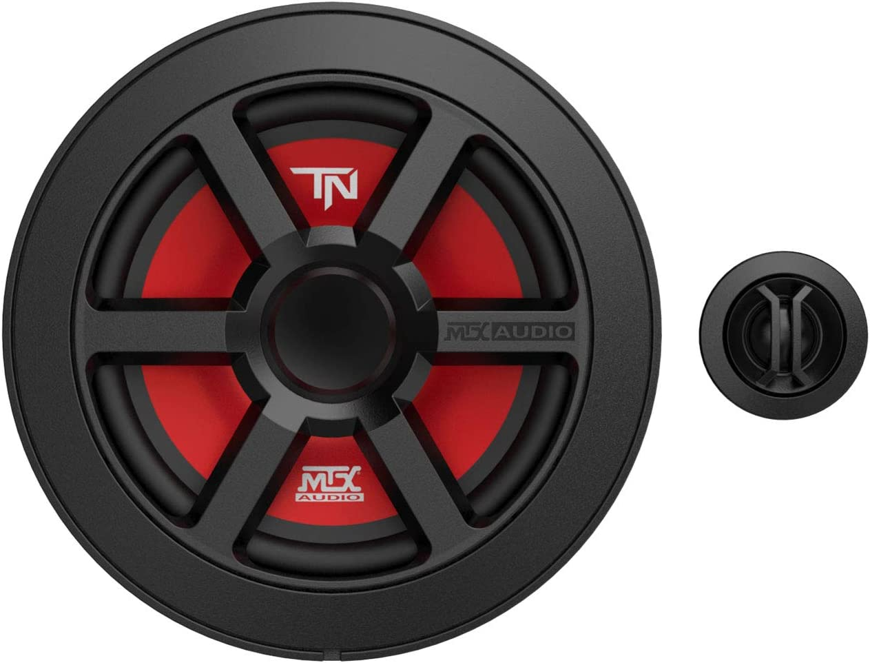 MTX Terminator 6.5 Inch Woofer Cone Component Speaker Pair with 45 Watt RMS