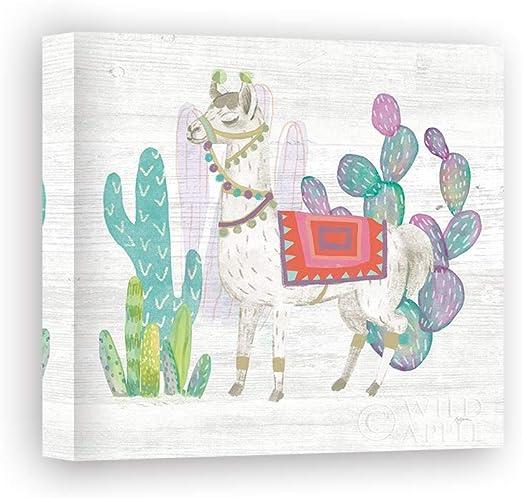 Impresión sobre Lienzo Wall Art Urban Mary Lovely Llamas V: Amazon ...