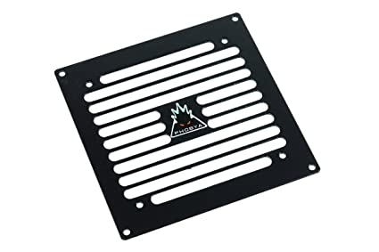 Phobya radiator grill single (120) - Stripes - Black