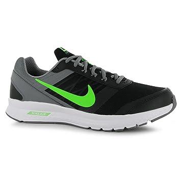 50287da8db5bd Nike Air Relentless 5 Running Shoes Mens Black Green Fitness Trainers  Sneakers (UK7)