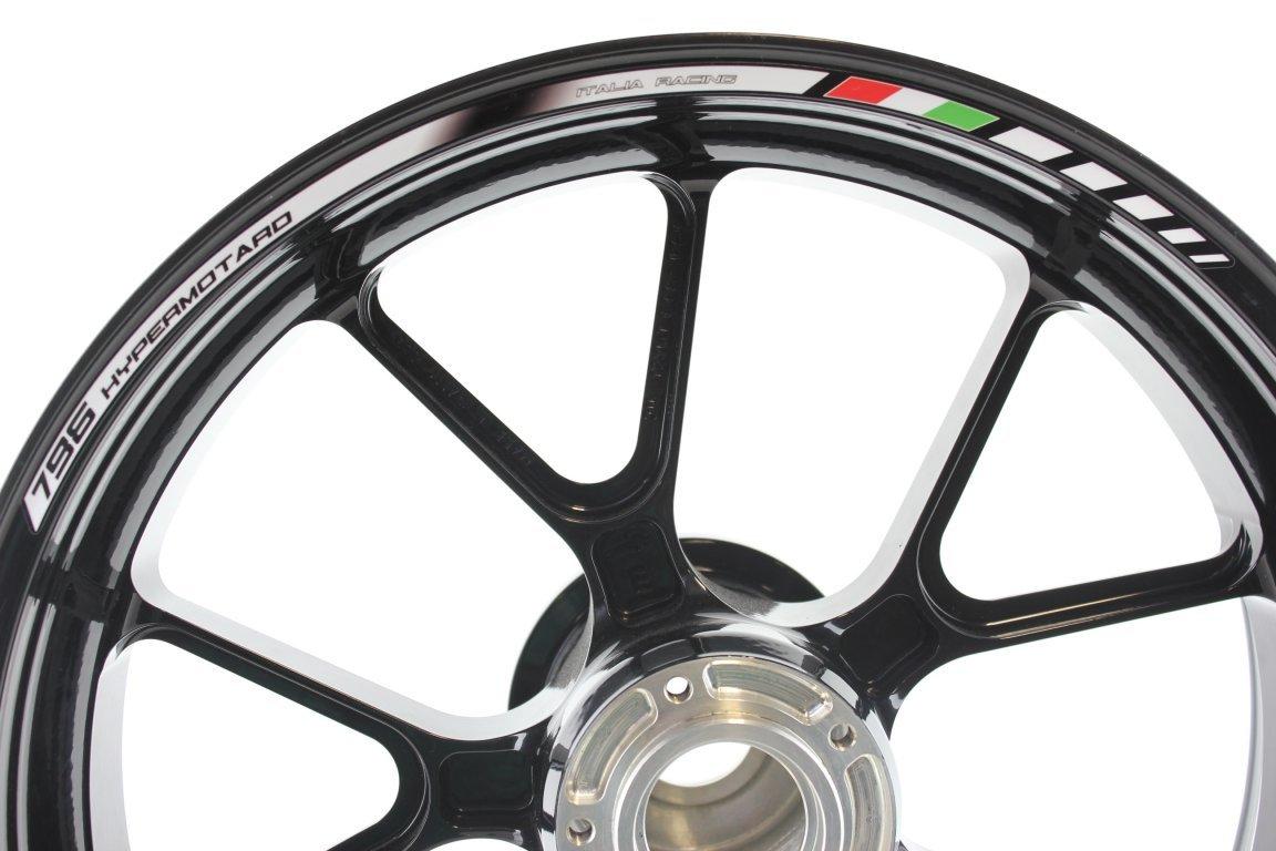 Bandas Adhesivas SpecialGP Moto Ducati Hypermotard 796 Blanco