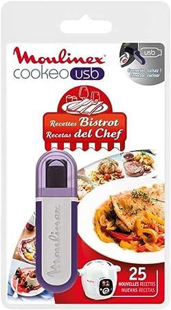 Moulinex Cookeo XA600411 - Llave flash USB con recetas, multicolor: Amazon.es: Hogar