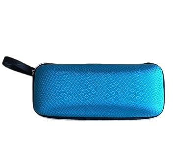Hosaire 1x Brillen Case Brillenetui Kreativ Dreiecksform Design Faltbar Hochwertiges Leder Korn Glasses Case f/ür Sonnenbrillen,Brillen,Brillen-Box