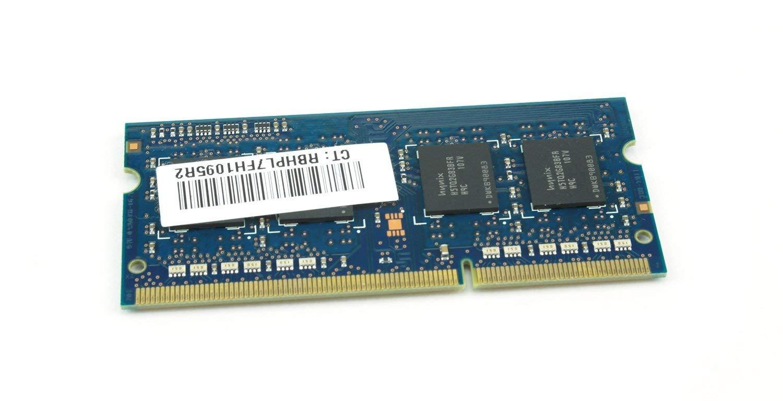 Hynix HMT325S6BFR8C-H9 2GB DDR3 1333MHz m/ódulo de Memoria 2 GB, 1 x 2 GB, DDR3, 1333 MHz, 204-pin SO-DIMM, Negro, Verde