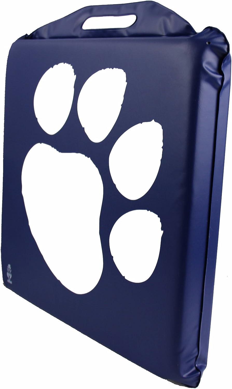 Astek Extra Wide Paw Prints Cub Scouts Stadium Bleacher Outdoor Seat Memory Foam Cushion