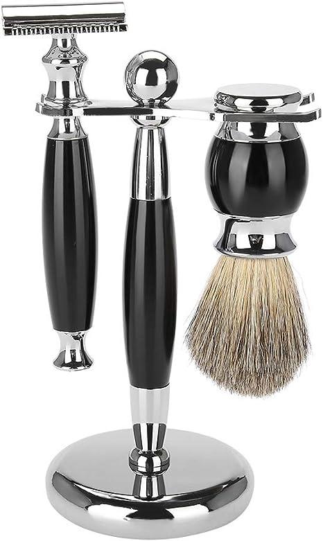 Juego de afeitado clásico, juego de regalo de afeitado con ...