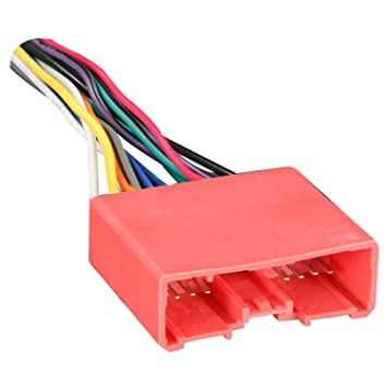 61xRWoZ7Z8L._SY355_ amazon com metra electronics 70 7903 wiring harness for 2001 up metra 70 7304 wiring diagram at n-0.co