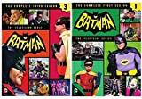 Batman: Season 1 & Season 3 Classic TV Series featuring Batman, Robin and Batgirl & Catwoman
