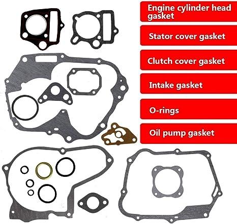 Complete Engine Gasket Set for 110cc ATV Quad Go Kart Dirt Bike TaoTao 10 Pieces