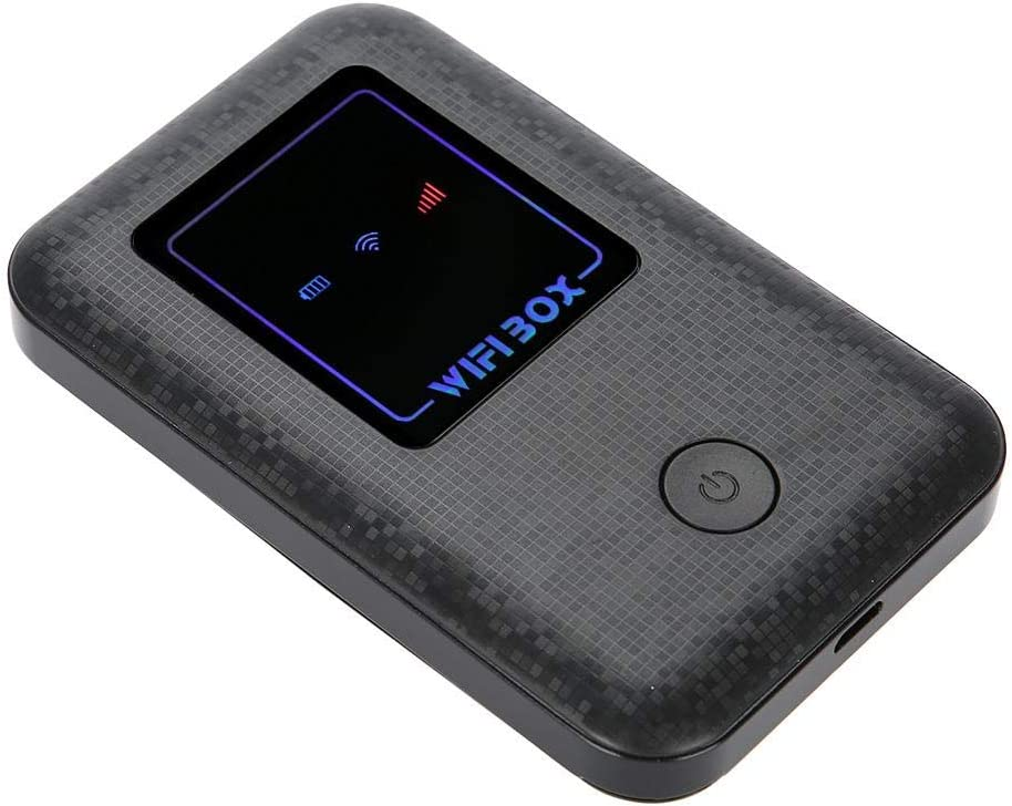 4G LTE Mobile Hotspot Devices,WiFi Box -High Speed -2100Mah -Up to 10 Connected Users -USB Charging-Portable 4G Router Suitable for Phone Ipad Laptop Etc,Good Product for Travel Camping Driving. (T1)