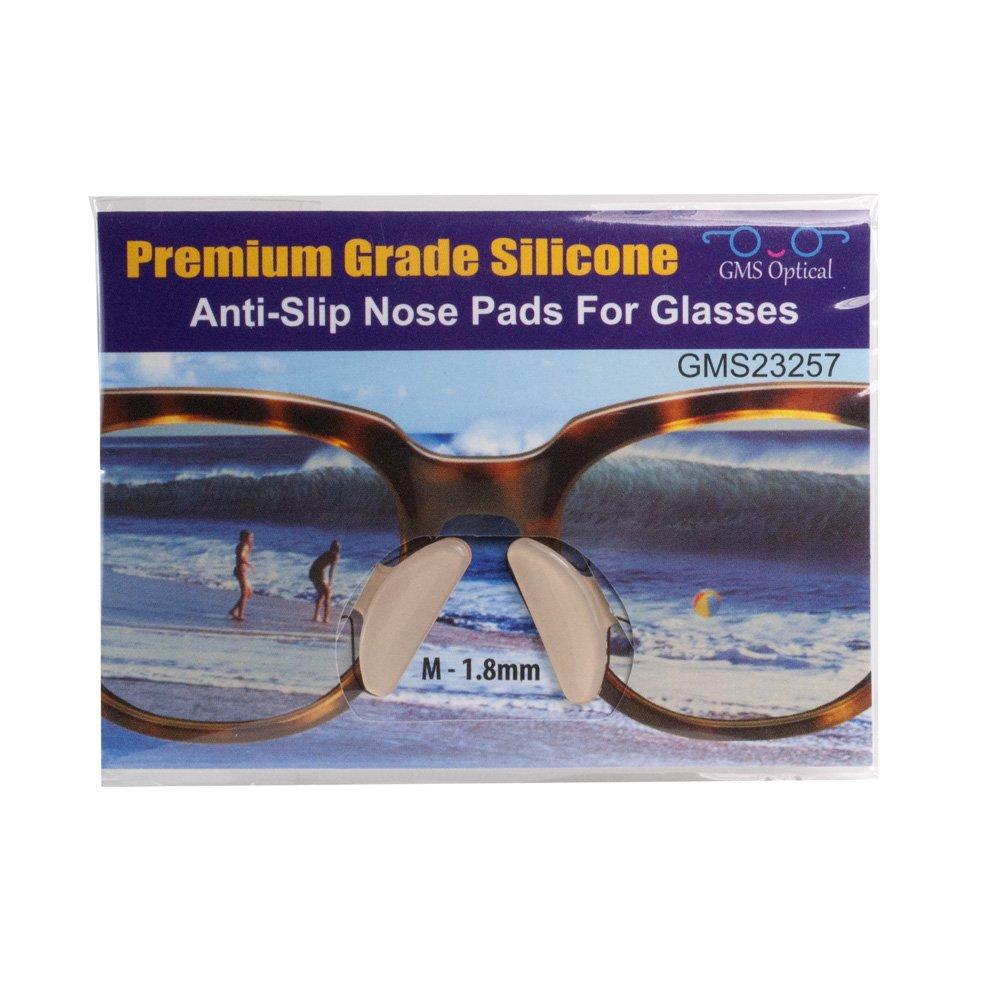 Amazon Com 10 Pair Clear 2 5mm X 17mm Non Slip Nose