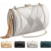 Bolsas de Embrague Carteras de Mano de Mujer con Borlas Bolso de Noche Elegante Clutch Bolso de Fiesta bolsa de embrague…