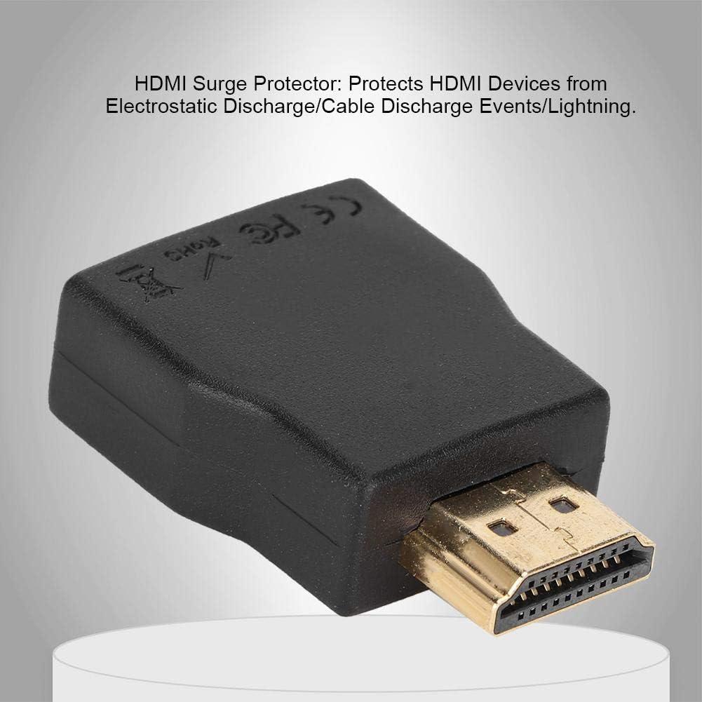 Protector de sobretensi/ón HDMI Mini Protector de sobretensi/ón de Entrada y Salida HDMI port/átil Protecci/ón contra descargas electrost/áticas Taidda Protecci/ón contra sobretensiones