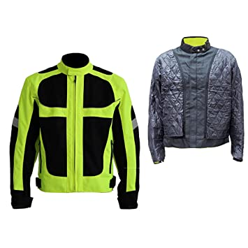 LKN - Chaqueta de invierno para motocicleta con capa térmica de algodón