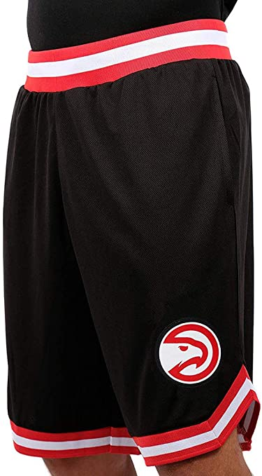 Ultra Game NBA Mens Woven Active Basketball Shorts
