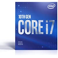 Intel Core i7-10700F Desktop Processor 8 Cores up to 4.8 GHz Without Processor Graphics LGA1200 (Intel 400 Series…