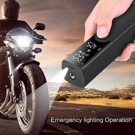 Suntapower Fahrradreifen Pumpe Elektrische Luftpumpe Tragbare Reifenaufblasvorrichtung Intelligente Vielseitige Pumpe Zum Aufblasen Von Fahrrädern Und Verschiedenen Bällen Ball Sport Freizeit