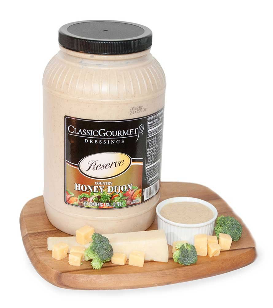 Ventura Foods Classic Gourmet Reserve Country Honey Dijon Salad Dressing, 1 Gallon -- 4 per case.