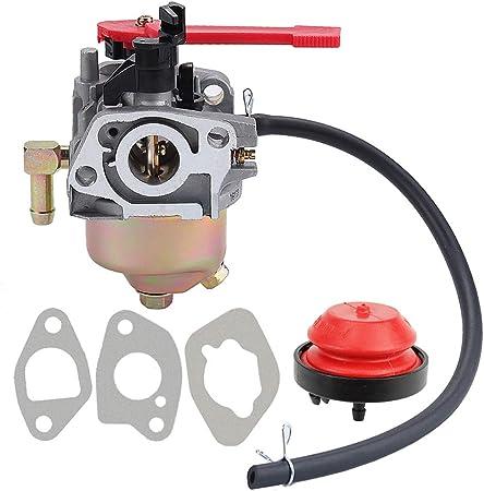 Milttor 161-JWA 161-JWA Carburetor Gaskets Insulator Fit Troy Bilt MTD Craftsman Cub Cadet 751-10956 Snow Blower 751-10956A 951-10956 951-10956A 751-12612 951-12612 751-14018 951-14018