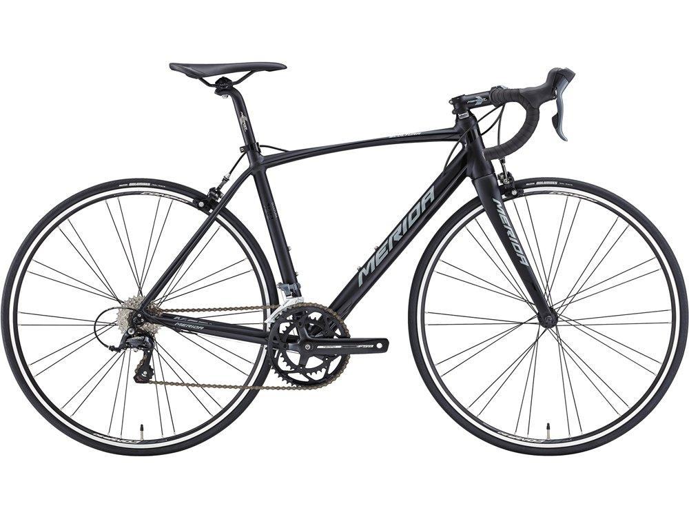 MERIDA (メリダ) 2016 SCULTURA 100 CLARIS 2x8 ロードバイク EKS3マットブラックシャイニーブラック グレー 47cm AMS010476 B016BMI1IS