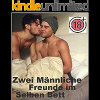 Zwei Männliche Freunde im Selben Bett