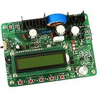 P Prettyia 300W Digital Controlador de Fuente de Alimentación DC-DC Módulo de Regulador Pantalla LCD