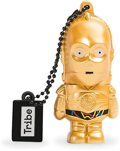 Llave USB 8 GB C3PO - Memoria Flash Drive 2.0 Original Star Wars ...