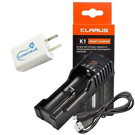 Klarus K1 único celular inteligente cargador de batería para ...