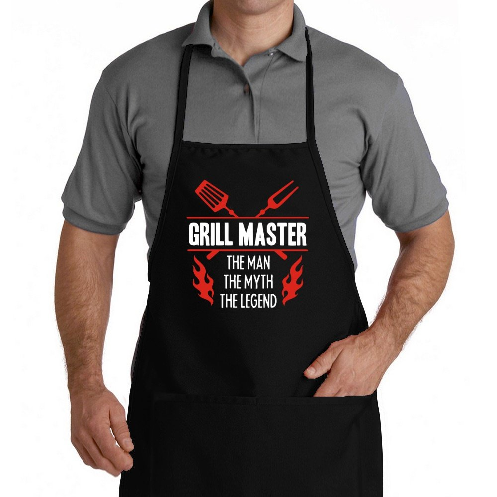 Eddany Grill Master The Man The Myth The Legend Apron DA543570008137889F6000