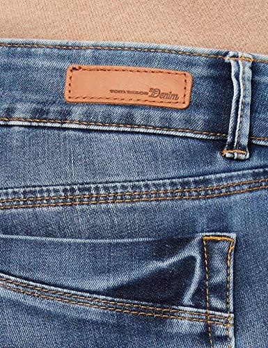 Azul Wash 1052 Tailor Tom mid Para Denim Skinny Mujer Stone Vaqueros ZxqYwz