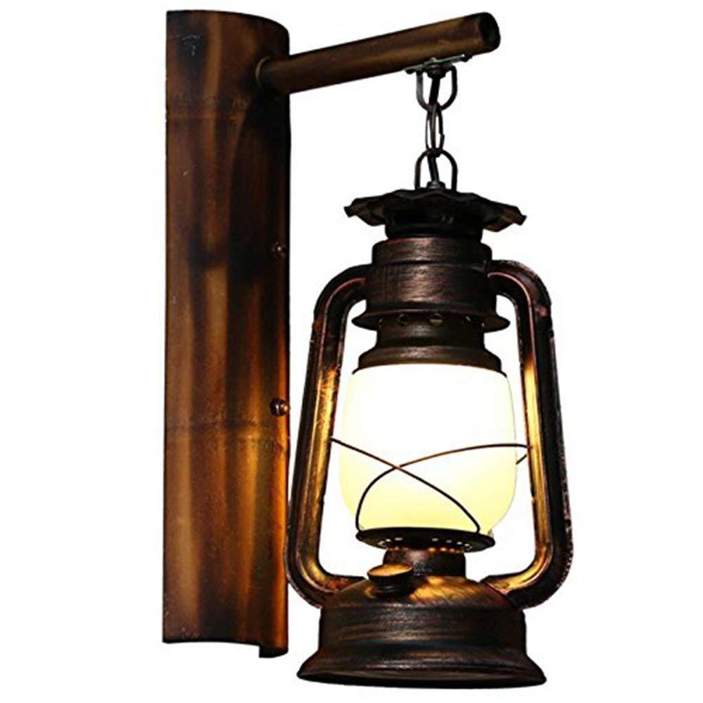 HhGold Wandleuchten Alte Alte von Kerosin Lampe Laterne Wandleuchten für für für die Dekoration Lounge Die Schlafzimmer Flur Beleuchtung Kopf Teil (Farbe   -, Größe   -) 65beaf