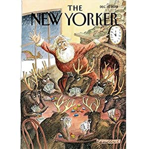 The New Yorker, December 17th, 2012 (Louis Menand, Dexter Filkins, Alex Wilkinson) Periodical